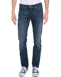 Levi's 511 Slim-Fit Stone Washed Jeans - Lyst