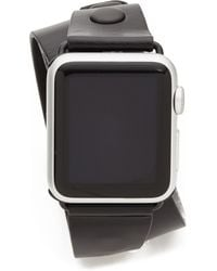 Rebecca Minkoff - Studded Leather 38mm Apple Watch Band - Lyst