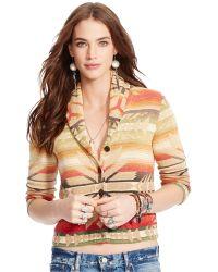 Denim & Supply Ralph Lauren Southwestern Shawl-Collar Cardigan - Lyst