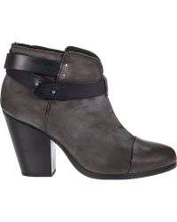 Rag & Bone Harrow Ankle Boot Stone Leather - Lyst
