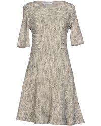10 Crosby Derek Lam Short Sleeve Bouclé Short Dress - Lyst