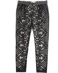 Lover Lace Skinny Pants - Lyst