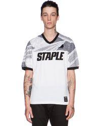 Staple Olympus Jersey T-Shirt - Lyst