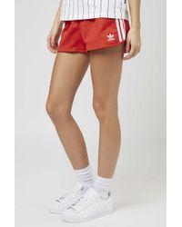 TOPSHOP - Three Stripe Shorts By Adidas Originals - Lyst