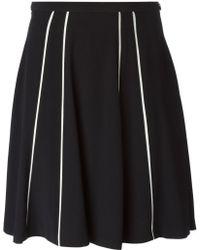 Mauro Grifoni - Stripe Detail Skirt - Lyst
