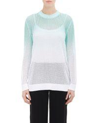 Kenzo Ombré Open-Knit Sweater - Lyst