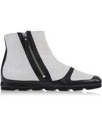 Vic Matie' Ankle Boots white - Lyst