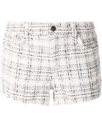 Joe's Jeans Woven Check Shorts - Lyst