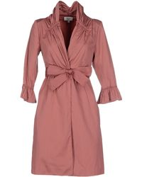 Hoss Intropia Full-Length Jacket pink - Lyst