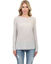 Vince Deep Raglan Sweater - Lyst