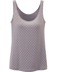Uniqlo Women Airism Bra Sleeveless Top Dot - Lyst