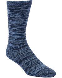 Calvin Klein Classic Flat Knit Crew Socks - Lyst