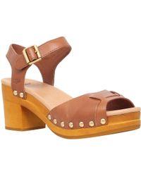 UGG - Janie Block Heeled Sandals - Lyst