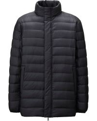 Uniqlo Men Ultra Light Down Half Coat - Lyst