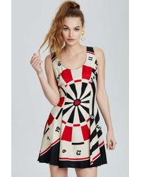 Nasty Gal Vintage Moschino Roma Fit-and-flare Dress - Lyst