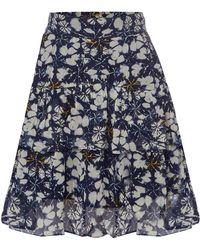 Linea Weekend - Batik Printed Skirt - Lyst