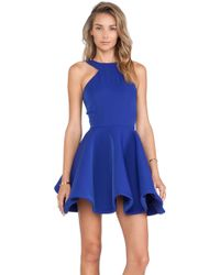 AQ/AQ Tiara Mini Dress - Lyst