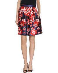Prabal Gurung Knee Length Skirt - Lyst