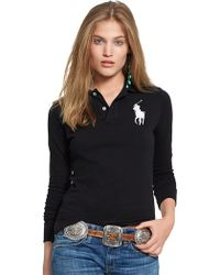 Polo Ralph Lauren Skinny-Fit Big Pony Polo - Lyst