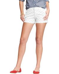 Old Navy Stretchtwill Shorts 3 12 - Lyst