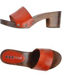 Piumi Sandals - Lyst