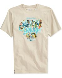 LRG Big Tall Growing Young Graphic Tshirt - Lyst