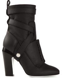 Fendi Diana Boots - Lyst