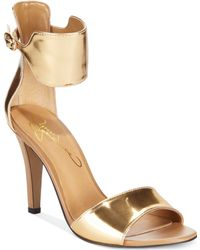 Report Signature Glimmer Two-Piece Sandals - Lyst