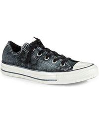 Converse Metallic Sneakers - Lyst