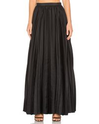 Blaque Label - Pleated Maxi Skirt - Lyst