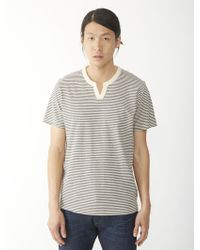Alternative Apparel Moroccan Organic Pima Striped Tshirt - Lyst