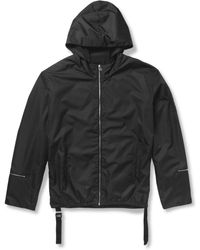 Balenciaga Hooded Shell Jacket - Lyst