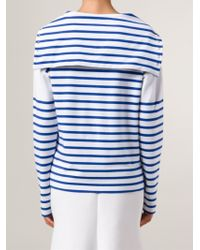 Jean Paul Gaultier - Striped Jersey Hoodie - Lyst