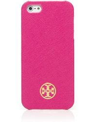 Tory Burch Robinson Hardshell Case For Iphone 5 - Lyst