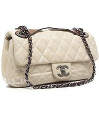 Chanel Pre-owned Iridescent in The Mix Medium Flap - Lyst