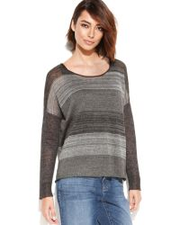 Eileen Fisher Marled Linen Sweater - Lyst