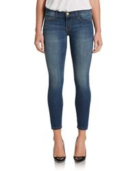 Current/Elliott The Stiletto Ankle Skinny Jeans - Lyst