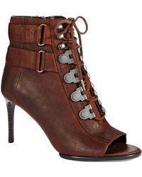 Luxury Rebel Cara Lace Up Heels - Lyst
