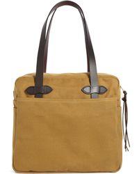 Brooks Brothers Filson® Medium Zippered Tote Bag - Lyst