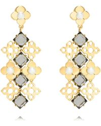 Tory Burch Babylon Chandelier Earring - Lyst