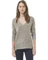 Rebecca Taylor Foiled Scoop Neck Pullover - Lyst