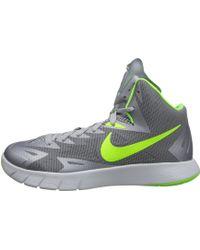 Nike Gray Lunar Hyperquickness - Lyst