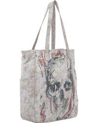 Alexander McQueen Skull Collage Shopper Tote - Lyst