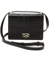Diane von Furstenberg | 440 Gallery Les Cross Body Bag - Black | Lyst