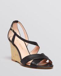 Enzo Angiolini - Open Toe Wedge Sandals - Vanida - Lyst