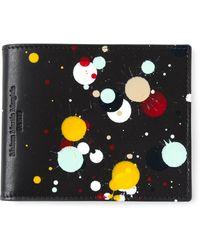 Maison Martin Margiela Paint Splatter Wallet - Lyst