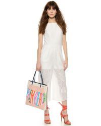 Jonathan Adler - Palm Beach Small Tote - Tan Multi - Lyst