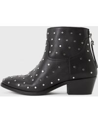 Zadig & Voltaire Teddy All Over Clous Boots black - Lyst