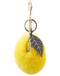 Dolce & Gabbana Citrus Rabbit-Fur Bag Charm - Lyst