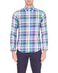 Ralph Lauren Checked Cotton Shirt  - Lyst